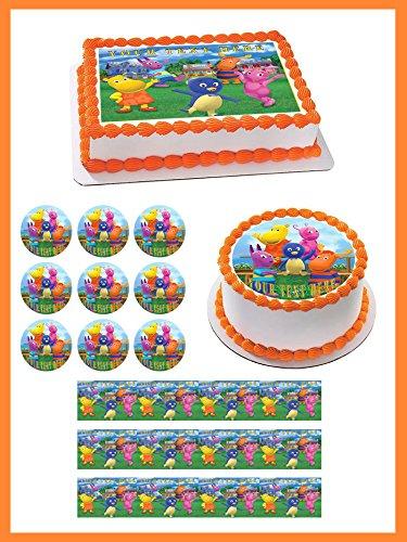 Backyardigans - Edible Cupcake Topper - 1.8