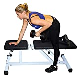 #8: Fitness Weight Bench, Multi-purpose Folding Adjustable Dumbbell Stool FCH Home Commercial Utility Flat /Incline Foldable Seat Bench Lifting Training Abdominal Exercise