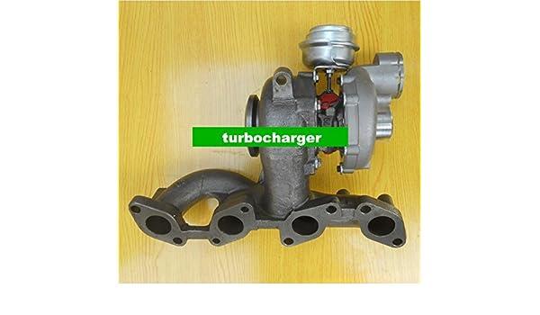 GOWE Turbocompresor para GT1749 V 756062 - 0003/2/1 03 G253019HX 03 G253014J Turbo turbocompresor para Volkswagen Golf V 2.0 Tdi 2003 - 2009 año 140HP BKD: ...
