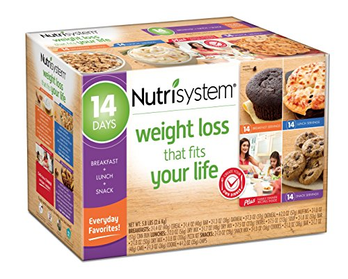 Nutrisystem  14 Day Weight Loss Kit  Everyday Favorites Limited Time Promotional Price