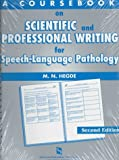 A Coursebook on Scientific & Professional Writing for Speech-Language Pathology (Singular Textbook Series)