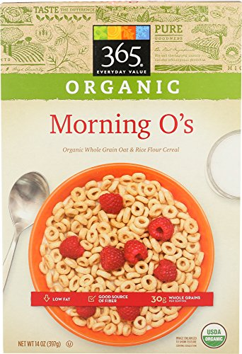 365 Everyday Value, Organic Morning O's, 14 Ounce 51E3ACo3oxL
