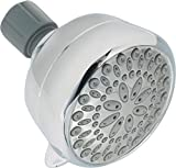 Delta Faucet  75551 Universal Showering Components Five Spray Massage Shower Head, Chrome
