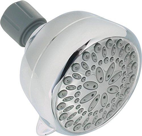 Delta 6-Spray Touch Clean Shower Head, Chrome 75551
