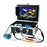 Docooler 1000TVL HD CAM Fish Finder Underwater Fishing Camera Video Recorder DVR 7inch Color LCD Monitor 12led/ir Night Vision 15m Cable