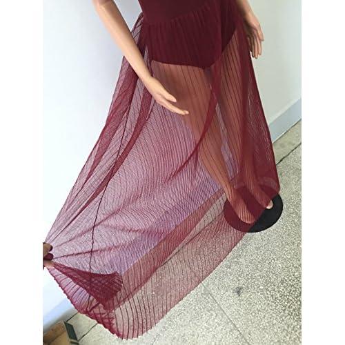 d13964bf84e Women s Sleeveless See through Club Dress Sexy Romper Maxi Dress Bodysuits  best