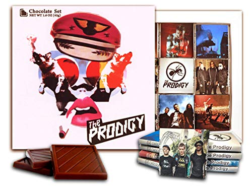 DA CHOCOLATE Candy Souvenir THE PRODIGY Chocolate Set 5x5