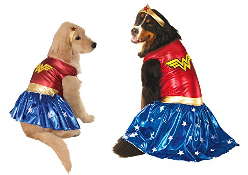 Wonder Woman Dog Costume (XL) (Wonder Woman Dog Costume)