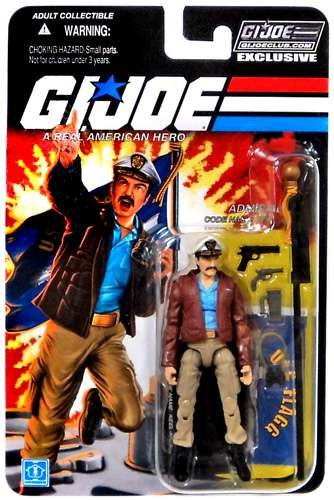 Admiral Keel Haul GI Joe Club Exclusive Action Figure