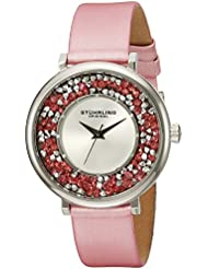 Stuhrling Original Womens 793.01 Vogue Analog Display Quartz Pink Watch