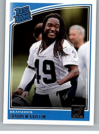 2018 Donruss Football  346 Shaquem Griffin RC Rookie Card Seattle Seahawks  Rated Rookie Official NFL 17c3697db