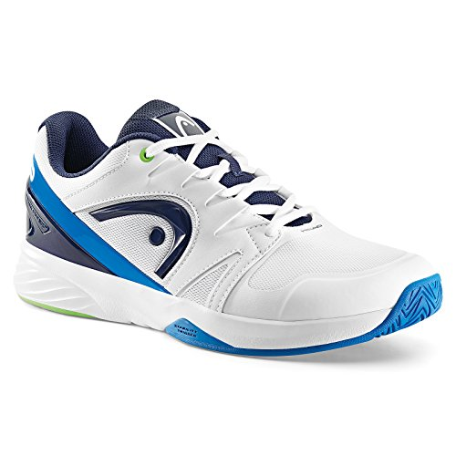 Head Nzzzo Team, Zapatillas de Tenis Unisex Adulto Blanco (White/ocean Blue)