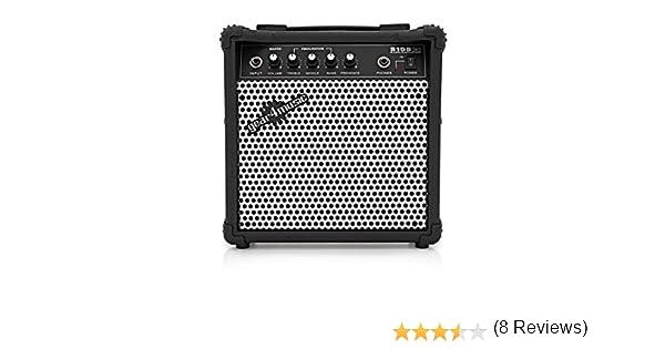 Amplificador de Bajo Electrico de 15 W de Gear4music