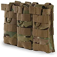 OUTRY M4 M16 AR-15 Type Magazine Pouch Mag Holder - Triple / Double / Single Airsoft MOLLE Mag Pouch