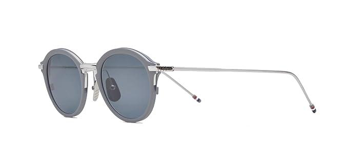 b4511703ac3 Sunglasses THOM BROWNE TB 110 B-T-GRY-SLV Matte Grey-Silver w Dark ...
