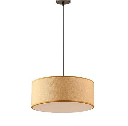 GWM Lámpara de Techo cilíndrica, lámpara de Cabeza de salón ...