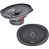 Audio Legion CMG69 Car Audio 6x9 Coaxial Fiberglass Cone 150W Speaker Pair New