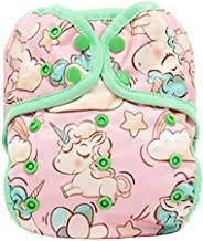 Baby Cloth Diapers, Reuseable Washable Pocket Cloth Diaper Nappy, One Size Adjustable,1