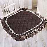 Office chair cushion/thicken dining chair cushion/tatami student stool cushion-A 45x48cm(18x19inch)