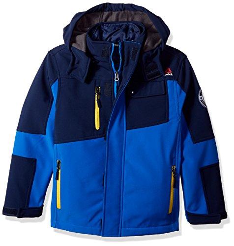 Reebok Toddler Boys' Active Outerwear Jacket (More Styles Available), Systems Medium Blue/Navy, - System Jacket Boys