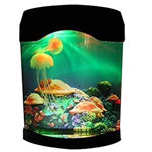 Amazon Com Novelty Led Artificial Jellyfish Aquarium