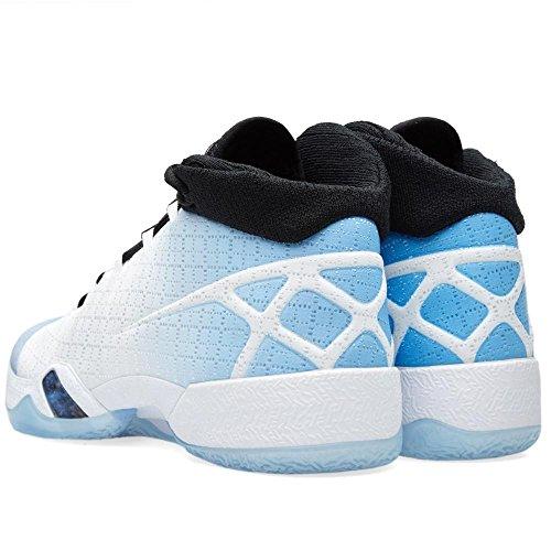 Nike Herre Air Jordan Xxx Basketball Sko Hvid / Sort / Blå (hvid / Sort Og Universitet Blå) UxG9UZN