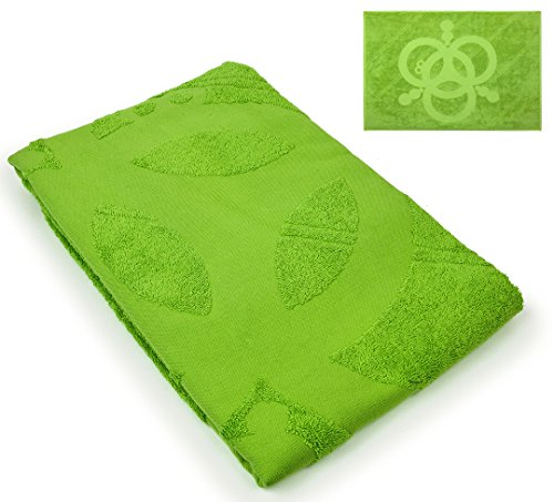 Triangle Tree, Inc. Bath Towel Turkish Cotton Fast Drying Super Absorbent - Perfect for Camping, Gym, Pool, Beach, Swimming, Green ()