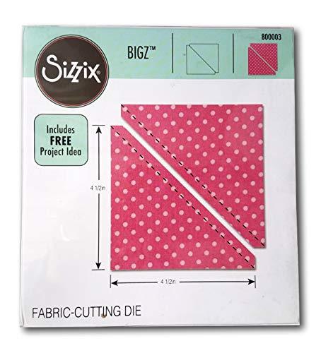 Sizzix Fabric Cutting Die Half Square Triangles 800003