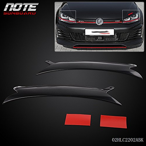 Headlight Eyelids - Speedmotor Generic 1Pair Headlight Eyelids Cover For VW Golf GTI Jetta R32 Rabbit Mk5 2006-2009