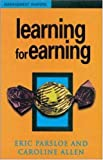 img - for Learning For Earning (Management Shapers) by Eric Parsloe (1998-03-01) book / textbook / text book