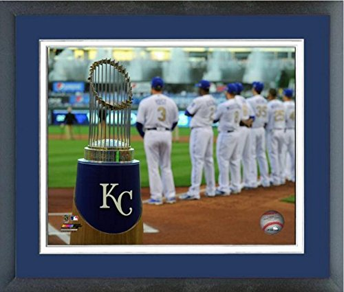Kansas City Royals Kauffman Stadium MLB 2015 World Series Photo (Size: 18