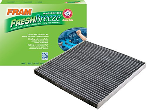 FRAM CF11173 Fresh Breeze Cabin Air Filter with Arm & Hammer (Ac Car Filter)
