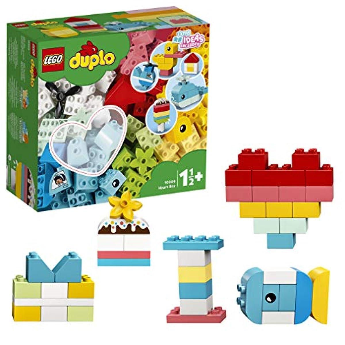 [해외] 레고(LEGO) 듀플로 듀플로우 여러가지 아이디어 박스<ハート> 10909