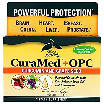 Terry Naturally CuraMed OPC – 60 Softgels