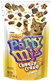 Purina Friskies Party Mix Cheezy Craze Crunch, 2.1-Ounce (Pack of 10), My Pet Supplies