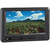 Voyager AOM713 7 Rear View Wide Format LCD Monitor with 3 Camera Inputs, Heavy Duty Color LCD Panel, 12 and 24 Volt Power System, NTSC and PAL Video Signal Compatible, Auto Day/Night Brightness Mode