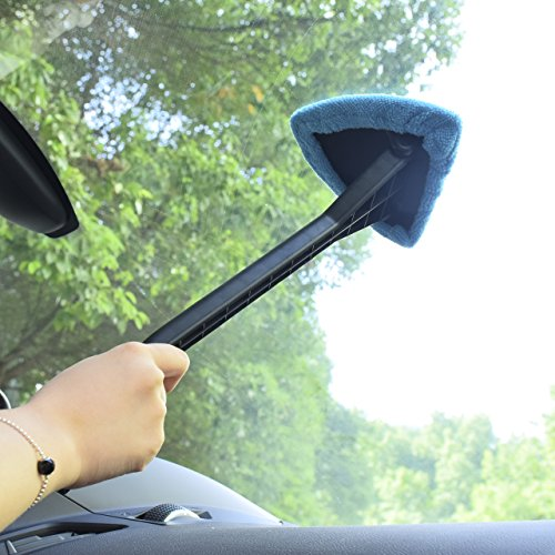 Dedc 2 Pack Car Windshield Cleaner Tools From Inside Window Glass Cleaning Tools For Home