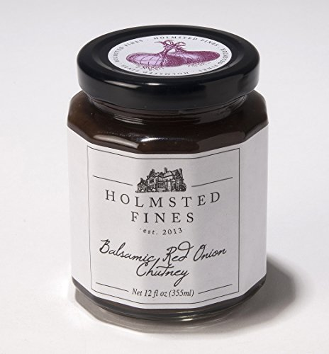 Holmsted Fines Chutney (Balsamic Red Onion, 12 ounces)