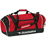Diadora Medium Team Bag (Black, 25-Inch x 11-Inch x 11-Inch), Bags Central