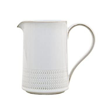 Denby USA Natural Canvas Textured Medium Jug