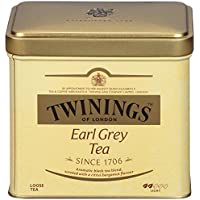 6-Packs 7.05 Ounces Twinings of London Earl Grey Loose Tea Tins