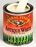 General Finishes QAW Milk Paint, 1 quart, Antique White
