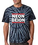 "The Silo BLACK TIE-DYE Atlanta Sanders ""Neion Deion"" T-Shirt"