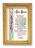 House Blessing S Gold Frames 4.5'' x 6.5: Italian Lithograph ROMEO Series With PHerbert Blessing