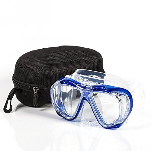 - Calypso Adult Diving Mask - Scuba Mask - Freediving - Super Soft Silicone for Ultimate Comfort