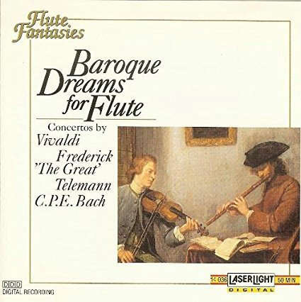 Baroque Dreams for Flute - Prussia King Of Outlet