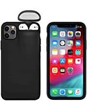 Winhoo 2 in 1 Anti-Scratch Shockproof Protective Case for iPhone 11 & Apple Airpods 1/AirPods 2/AirPods pro