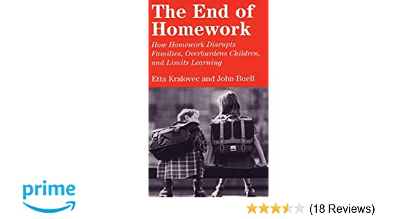 etta kralovec the end of homework