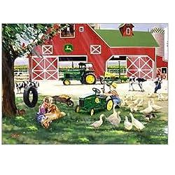 John Deere Little Farm Hands 1000 piece Jigsaw Puzzle