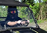 SuperATV Polaris RZR 800 / 800 S / 800 4 / XP 900 / 570 / XP 4 900 Full Windshield - Clear, Standard (Check Fitment for Years)